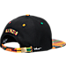 Back view of Zephyr Illinois Fighting Illini College Zukente Snapback Hat in Team Colors