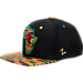 Front view of Zephyr Louisville Cardinals  College Zukente Snapback Hat in Team Colors