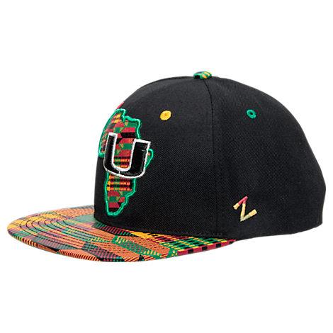 Zephyr Miami Hurricanes College Zukente Snapback Hat