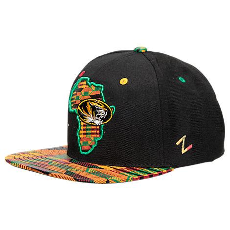 Zephyr Missouri Tigers College Zukente Snapback Hat