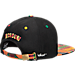 Back view of Zephyr Missouri Tigers College Zukente Snapback Hat in Team Colors