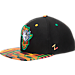 Front view of Zephyr St. Louis Billikens College Zukente Snapback Hat in Team Colors