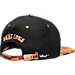 Back view of Zephyr St. Louis Billikens College Zukente Snapback Hat in Team Colors