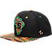 Front view of Zephyr Syracuse Orange College Zukente Snapback Hat in Team Colors
