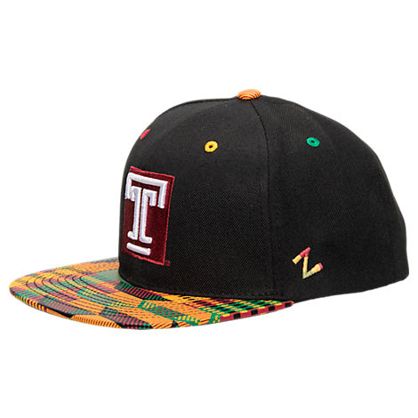 Zephyr Temple Owls College Zukente Snapback Hat
