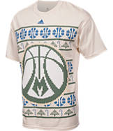 Men's adidas Milwaukee Bucks NBA Ugly T-Shirt
