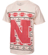 Men's adidas Nebraska Cornhuskers College Ugly T-Shirt