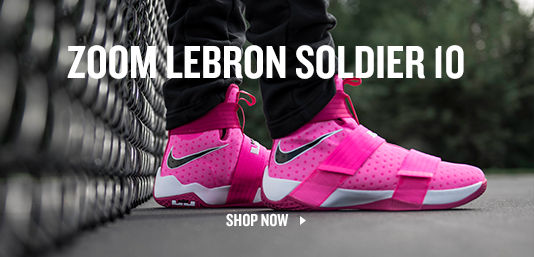 Shop Zoom Lebron Soldier 10.