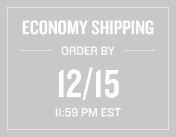 Economy Shipping Order by 12/15