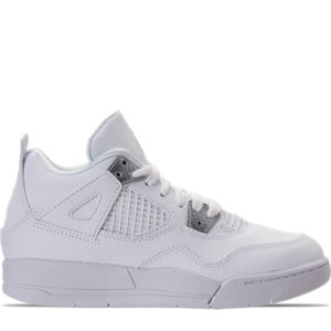 Boys' Preschool Jordan Retro 4 Basketball Shoes Product Image