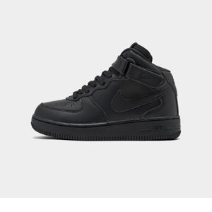 Kids' Preschool Nike Air Force 1 Mid Basketball Shoes Product Image