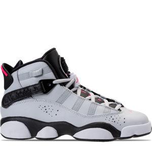 Girls' Grade School Jordan 6 Rings (3.5y-9.5y) Basketball Shoes Product Image