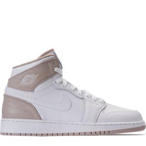 Girls' Grade School Air Jordan Retro 1 High (3.5y-9.5y) Basketball Shoes Product Image