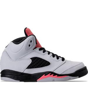 Girls' Preschool Jordan Retro 5 Basketball Shoes Product Image