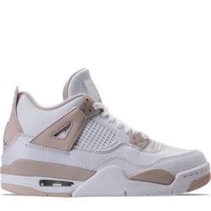 Girls' Grade School Air Jordan Retro 4 (3.5y-9.5y) Basketball Shoes Product Image