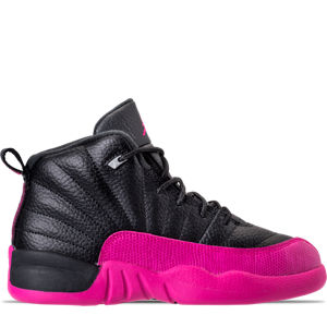 Girls' Preschool Jordan Retro 12 Basketball Shoes Product Image