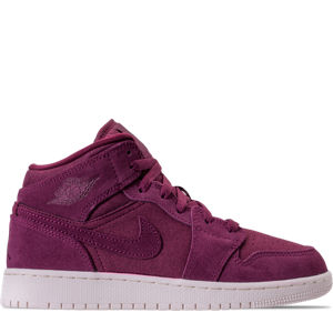 Kids' Grade School Air Jordan 1 Mid Basketball Shoes Product Image