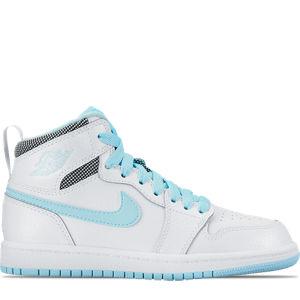 Girls' Preschool Jordan Retro 1 High Basketball Shoes Product Image