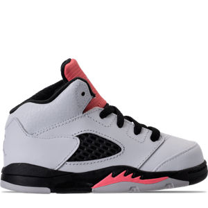 Girls' Toddler Jordan Retro 5 Basketball Shoes Product Image