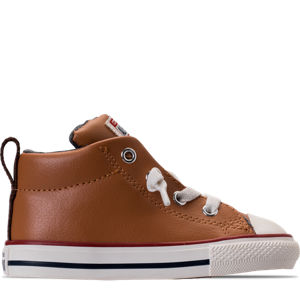 Boys' Toddler Converse Chuck Taylor All-Star Street Leather Casual Shoes Product Image