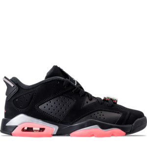 Girls' Grade School Air Jordan Retro 6 Low (3.5y-9.5y) Basketball Shoes Product Image