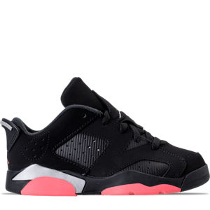 Girls' Preschool Jordan Retro 6 Low Basketball Shoes Product Image