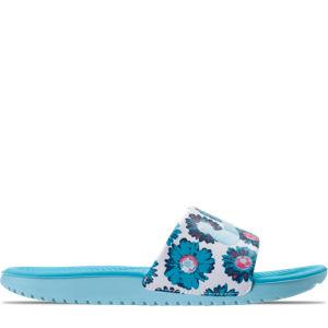 Girls' Grade School Nike Kawa Print Slide Sandals Product Image