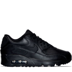 Boys' Grade School Nike Air Max 90 Leather Running Shoes Product Image