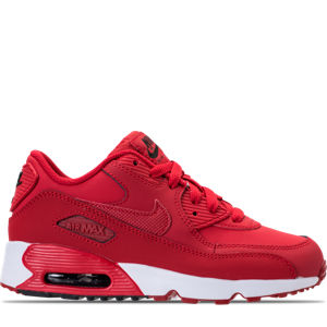 Boys' Preschool Nike Air Max 90 Leather Running Shoes Product Image