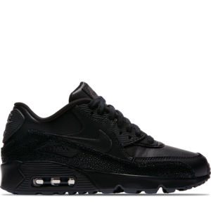 Boys' Grade School Nike Air Max 90 SE Leather Running Shoes Product Image