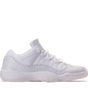 Girls' Grade School Air Jordan Retro 11 Low Premium Heiress Collection (3.5y-9.5y) Basketball Shoes Product Image