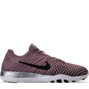 Women's Nike Free TR Flyknit 2 Chrome Blush Training Shoes Product Image
