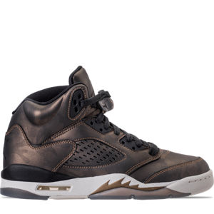 Girls' Grade School Air Jordan Retro 5 Premium Heiress Collection (3.5y - 9.5y) Basketball Shoes Product Image
