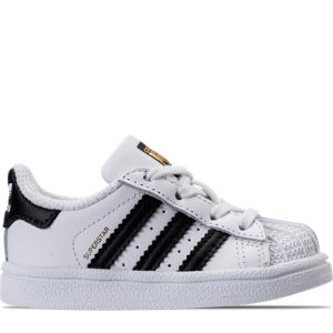 Kids' Toddler adidas Superstar Hook-and-Loop Closure Casual Shoes Product Image
