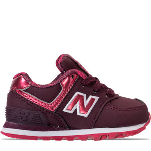 Girls' Toddler New Balance 574 Casual Shoes Product Image