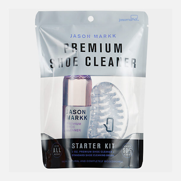 Front view of Jason Markk Premium Shoe Cleaner Starter Kit in None