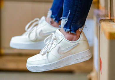 Cream Is The Dream With The Latest Nike Air Force 1 and Air Max 1 For The Ladies