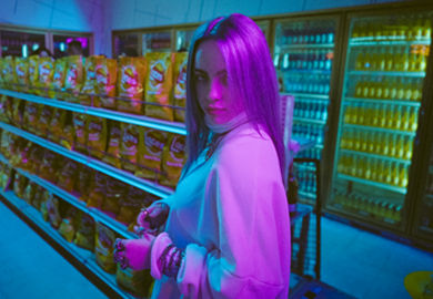 #ShoesSoFresh: Billie Eilish Comes Through The Finish Line Bodega