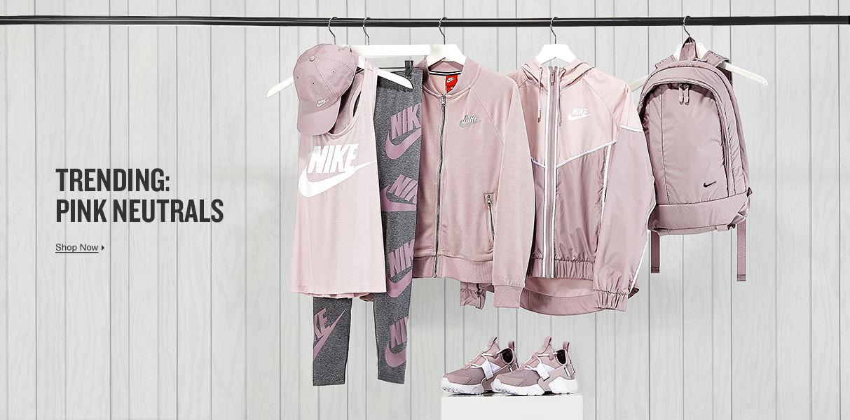Trending: Pink Neutrals. Shop Now.