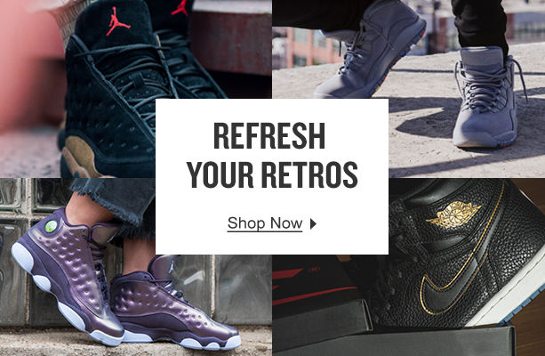 Refresh Your Retros. Shop Now.