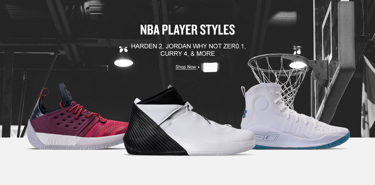 NBA Player Styles. Shop Now.