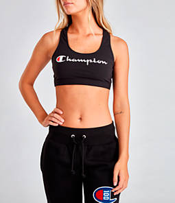 Women's Champion Reissue Script Sports Bra