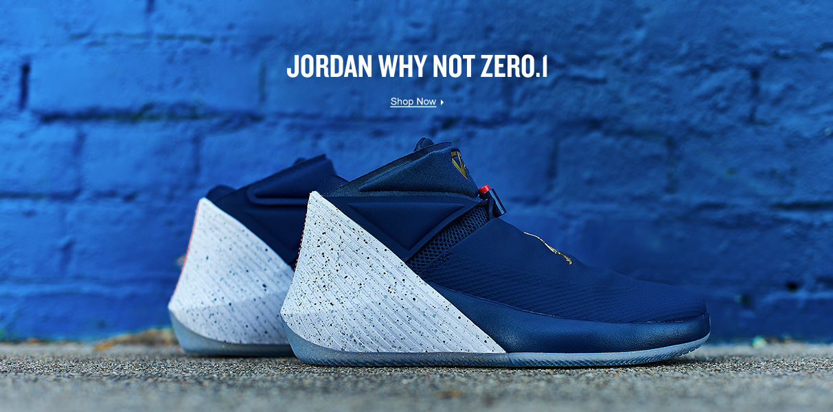 Jordan Why Not. Shop Now.