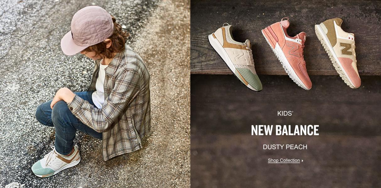 Kids' New Balance Dusty Peach. Shop Now.