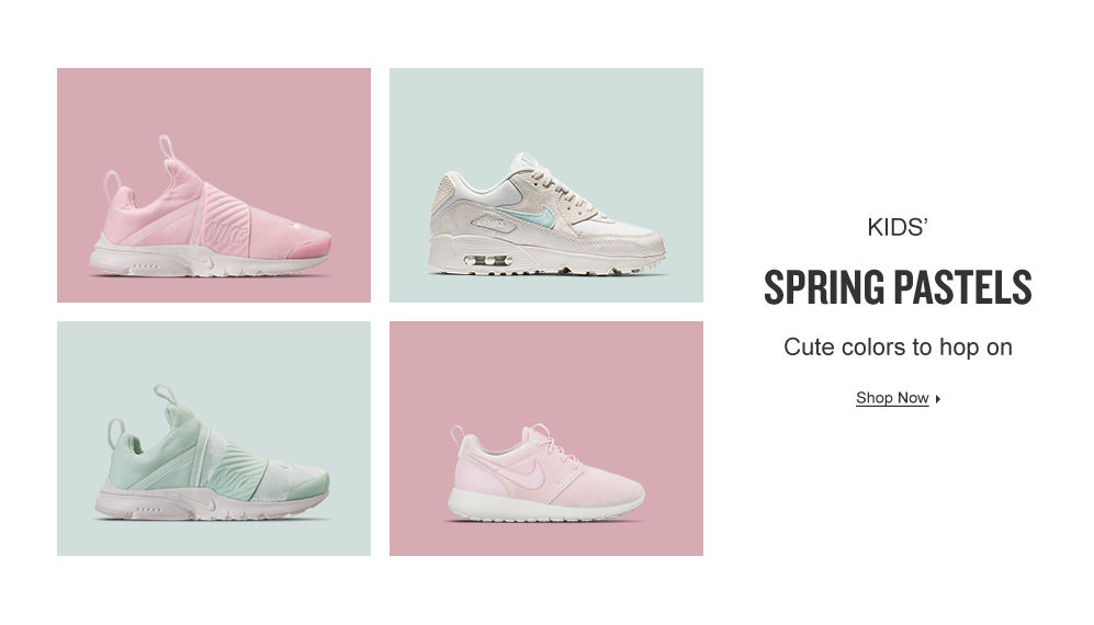 Kids' Spring Easter Colors. Shop Now.