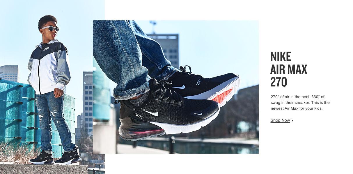 Kids' Nike Air Max 270. Shop Now.