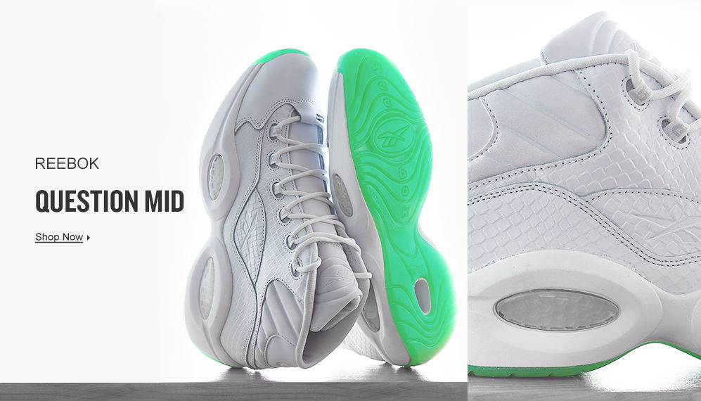Reebok Question Mid. Shop Now.