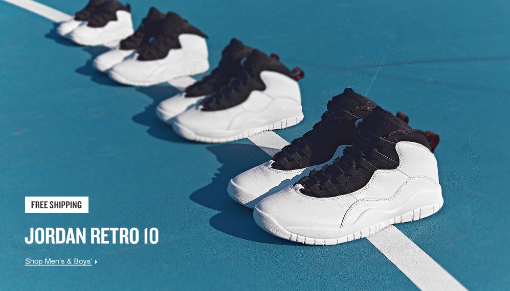 Jordan Retro 10. Shop Now.