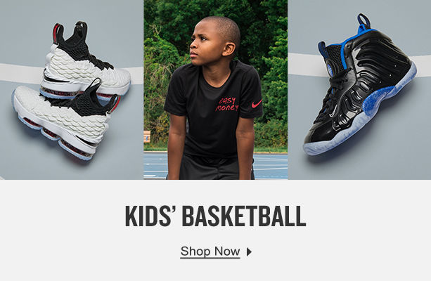 Kids' Basketball. Shop Now.