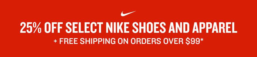 17271a9cbf0d 25% off Select Nike Shoes & Apparel | Finish Line
